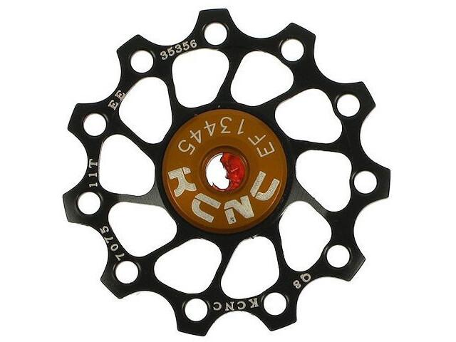 KCNC Jockey Wheel Ultra 12 tanden SS Lager, black
